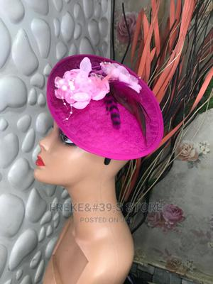 Pink Rossy Fascinator   Clothing Accessories for sale in Lagos State, Surulere