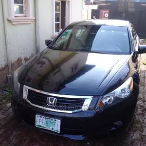Honda Accord 2008 Black | Cars for sale in Lagos State, Alimosho
