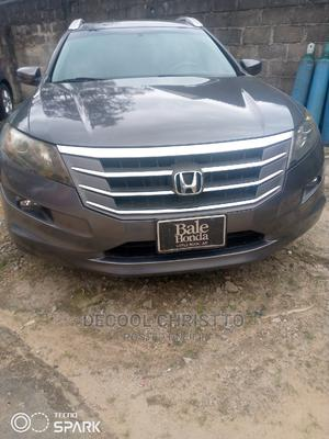 Honda Accord CrossTour 2013 EX-L W/Navigation Gray | Cars for sale in Rivers State, Port-Harcourt