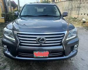 Lexus LX 2013 570 AWD Gray | Cars for sale in Lagos State, Ikeja