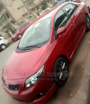 Toyota Corolla 2010 Red   Cars for sale in Lagos State, Ikeja