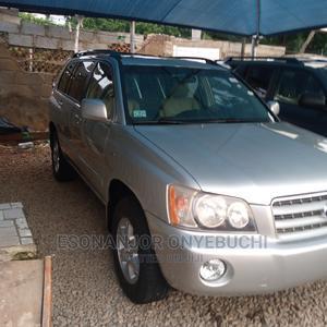 Toyota Highlander 2004 Limited V6 FWD Silver | Cars for sale in Abuja (FCT) State, Garki 2