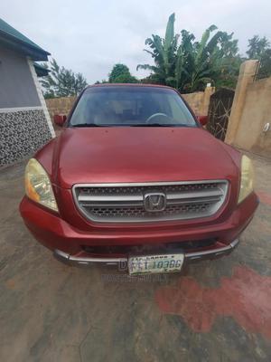 Honda Pilot 2004 Red   Cars for sale in Osun State, Osogbo