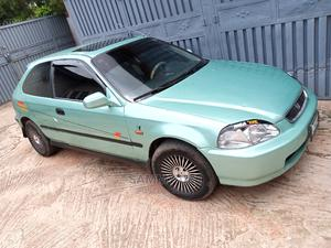 Honda Civic 1998 DX 2dr Coupe Green | Cars for sale in Plateau State, Jos