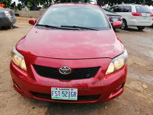 Toyota Corolla 2009 Red | Cars for sale in Lagos State, Ojodu