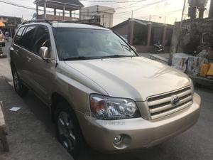 Toyota Highlander 2007 Gold | Cars for sale in Lagos State, Surulere