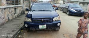 Toyota Highlander 2003 Limited V6 AWD Blue | Cars for sale in Lagos State, Surulere