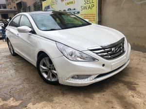 Hyundai Sonata 2012 White   Cars for sale in Lagos State, Ogba
