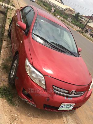 Toyota Corolla 2009 1.8 Advanced Red | Cars for sale in Oyo State, Ibadan