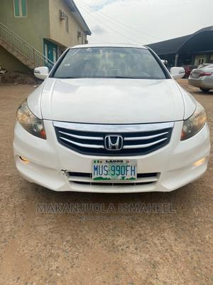 Honda Accord 2009 White | Cars for sale in Lagos State, Alimosho