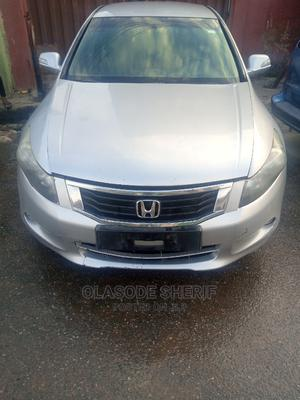 Honda Accord 2009 2.0 I-Vtec Silver | Cars for sale in Lagos State, Surulere