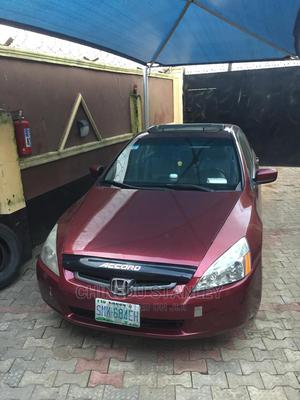 Honda Accord 2003 Automatic Red   Cars for sale in Lagos State, Alimosho
