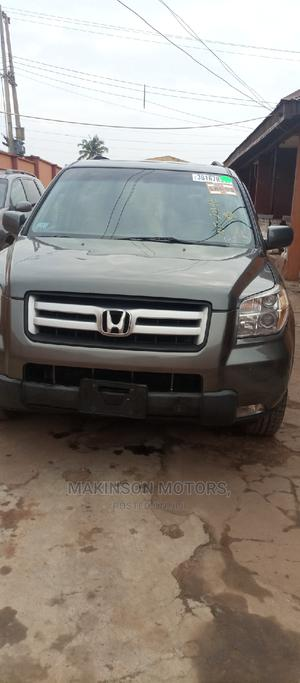 Honda Pilot 2008 EX 4x4 (3.5L 6cyl 5A) Gray   Cars for sale in Ekiti State, Ado Ekiti