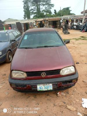 Volkswagen Golf 1999 Red | Cars for sale in Lagos State, Ikorodu