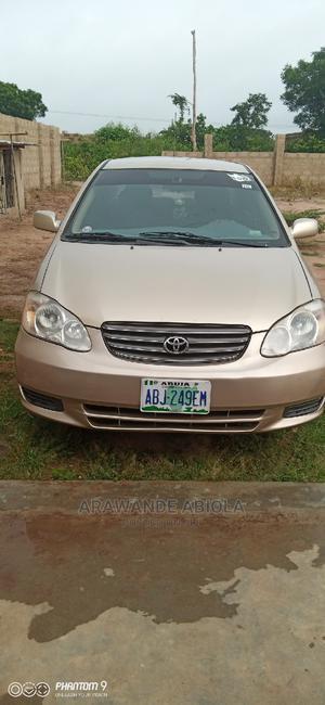 Toyota Corolla 2004 Sedan Gold | Cars for sale in Ogun State, Ilaro