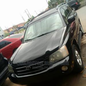 Toyota Highlander 2003 Limited V6 FWD Black   Cars for sale in Lagos State, Ikeja