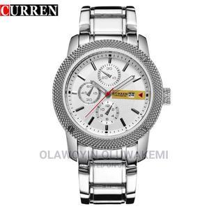 Curren 8069 Luxury Sport Quartz Men Wristwatch | Watches for sale in Lagos State, Ikeja