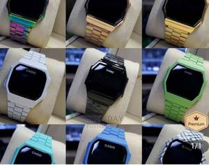 Casio Colourful Led Touch Wristwatch   Watches for sale in Lagos State, Amuwo-Odofin