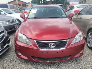Lexus IS 2007 250 Red | Cars for sale in Lagos State, Yaba