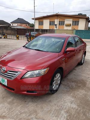 Toyota Camry 2007 2.3 Hybrid Red | Cars for sale in Lagos State, Abule Egba