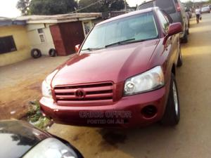 Toyota Highlander 2006 Red | Cars for sale in Lagos State, Yaba