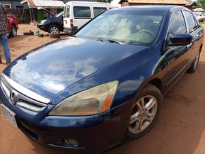 Honda Accord 2007 2.4 Blue   Cars for sale in Lagos State, Shomolu