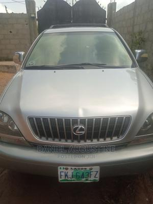 Lexus RX 2002 300 4WD Silver | Cars for sale in Lagos State, Ojo