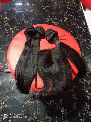 Pure Human Hair Straight 14inches 14   Hair Beauty for sale in Lagos State, Ikorodu