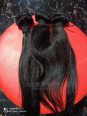 Pure Human Hair Straight 14inches   Hair Beauty for sale in Lagos State, Ikeja