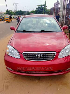 Toyota Corolla 2005 CE Red   Cars for sale in Lagos State, Isolo
