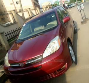 Toyota Sienna 2004 XLE FWD (3.3L V6 5A) Red   Cars for sale in Lagos State, Ikeja