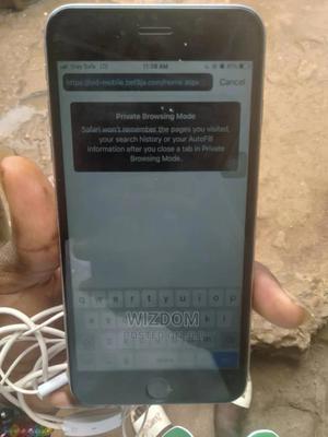 Apple iPhone 6s Plus 32 GB Gray   Mobile Phones for sale in Lagos State, Ojota