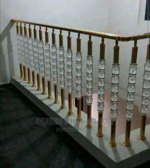 Durable Glass, Aluminium And Stainless Steel Handrails | Building Materials for sale in Lagos State, Lekki