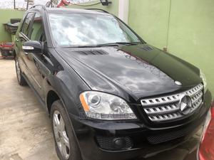 Mercedes-Benz M Class 2008 ML 350 4Matic Black | Cars for sale in Lagos State, Ogba