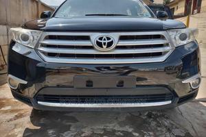 Toyota Highlander 2012 SE Black   Cars for sale in Lagos State, Alimosho