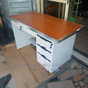 Quality Metal Table With Wooden Top | Furniture for sale in Lagos State, Ojo