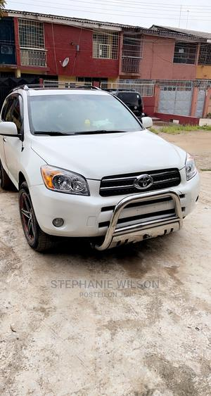 Toyota RAV4 2007 Limited White   Cars for sale in Lagos State, Ikeja