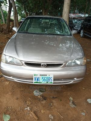 Toyota Corolla 1999 Gold | Cars for sale in Abuja (FCT) State, Gwagwa