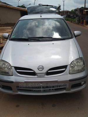 Nissan Almera 2004 Tino Silver | Cars for sale in Osun State, Ilesa