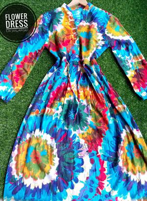 Flowered Multi Colored Dress | Clothing for sale in Edo State, Benin City