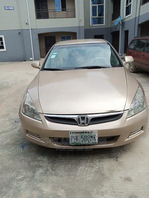 Honda Accord 2007 2.4 Exec Gold | Cars for sale in Rivers State, Obio-Akpor