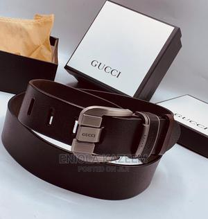 High Quality Designer Leather Gucci Belts Available for U   Clothing Accessories for sale in Lagos State, Lagos Island (Eko)