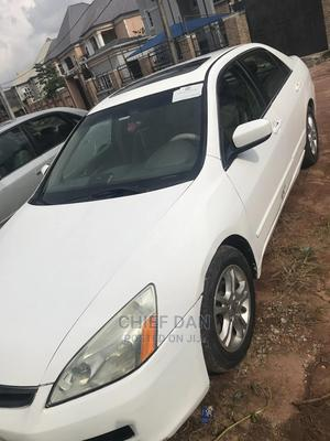 Honda Accord 2007 2.0 Comfort White   Cars for sale in Imo State, Owerri