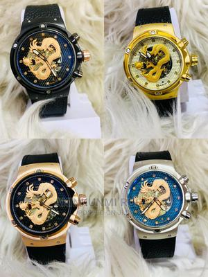 Original Leather HUBLOT With Dragon Planted Design | Watches for sale in Lagos State, Ojodu