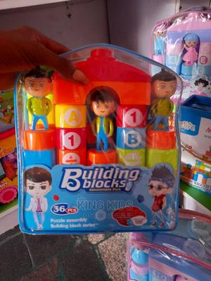 Building Blocks for Kids 36pcs   Toys for sale in Lagos State, Amuwo-Odofin