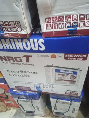 12v 220ah Luminous Indian Tubular Battery | Solar Energy for sale in Lagos State, Ikeja