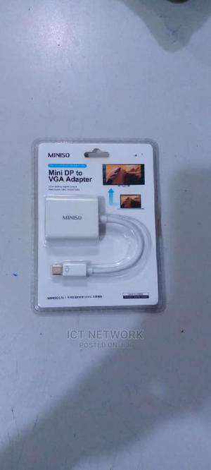 Mini Dp to Vga Adapter | Computer Accessories  for sale in Abuja (FCT) State, Wuse