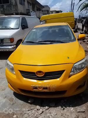 Toyota Corolla 2010 Yellow   Cars for sale in Lagos State, Mushin