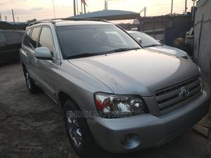 Toyota Highlander 2007 V6 4x4 Silver | Cars for sale in Lagos State, Ikeja