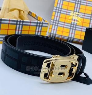 High Quality Designer Leather Belts Burberry Available for U | Clothing Accessories for sale in Lagos State, Lagos Island (Eko)